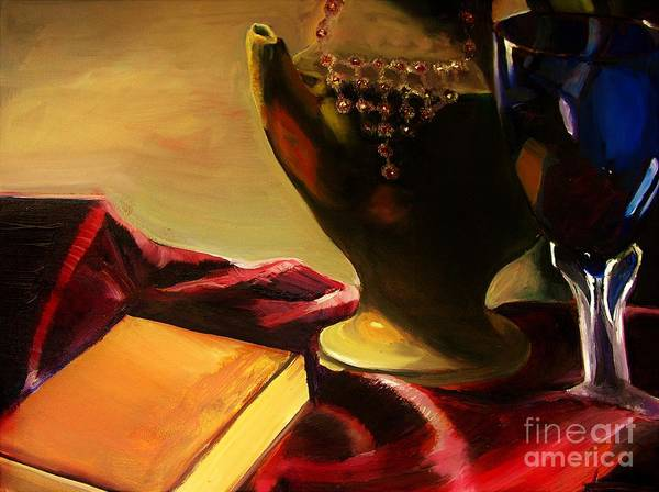 Charisse Painting - Time Of Old by Charisse Sotto
