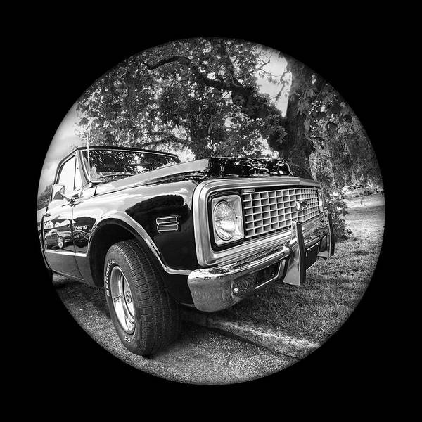 Photograph - Time Portal - '71 Chevy by Gill Billington