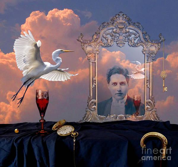 Digital Art - Time Reflection by Alexa Szlavics