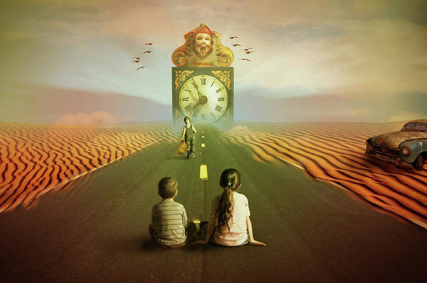 Growing Up Digital Art - Time To Grow Up by Nathan Wright