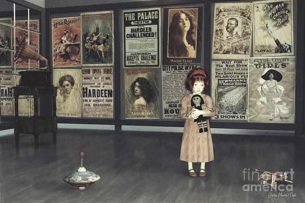Digital Art - Time Travel by Jutta Maria Pusl