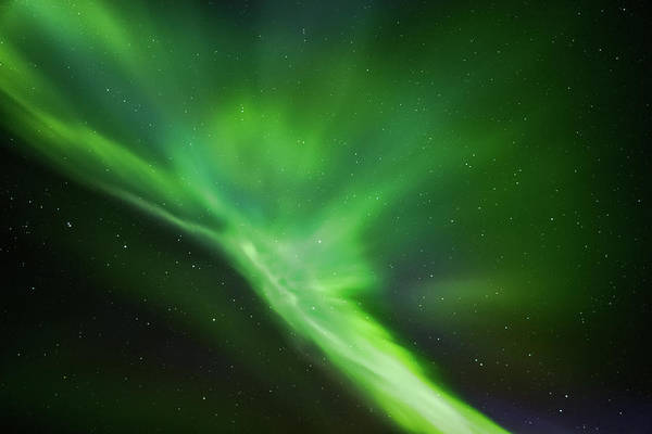Photograph - Time Travel Northern Lights Karasjok Norway by Adam Rainoff