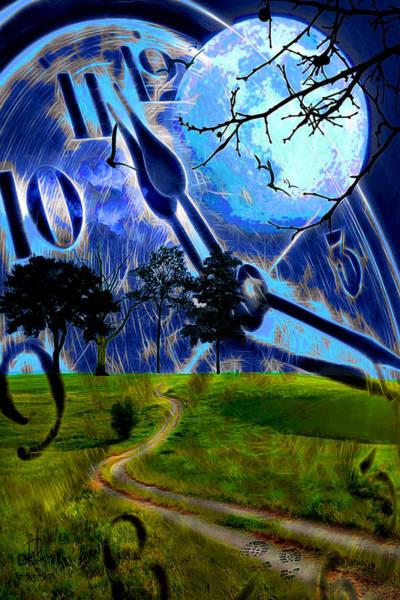 Digital Art - Time Travel by Pennie McCracken