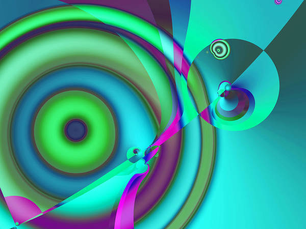 Digital Art - Time Warp by Frederic Durville