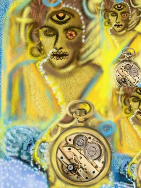 Stevie Nicks Digital Art - Time Won't Give Me Time  by Pat Carafa