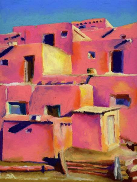 Adobe Walls Painting - Timeless Adobe by Stephen Anderson