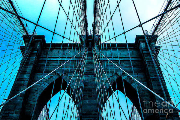 Suspension Bridge Photograph - Timeless Arches by Az Jackson