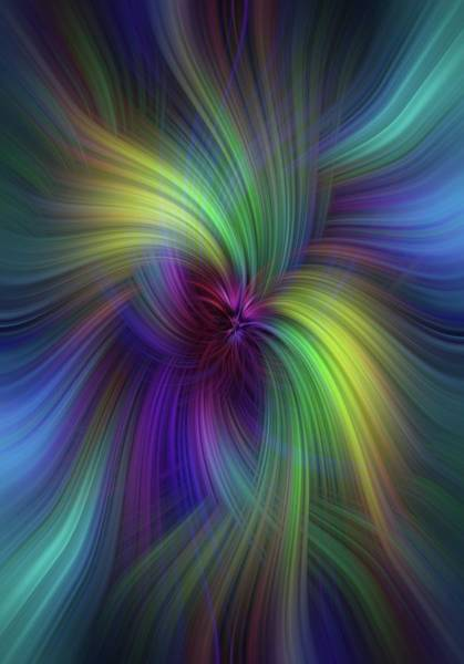 Photograph - Timeless Beauty. Mystery Of Colors  by Jenny Rainbow