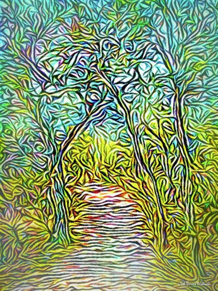 Digital Art - Timeless Pathway by Joel Bruce Wallach