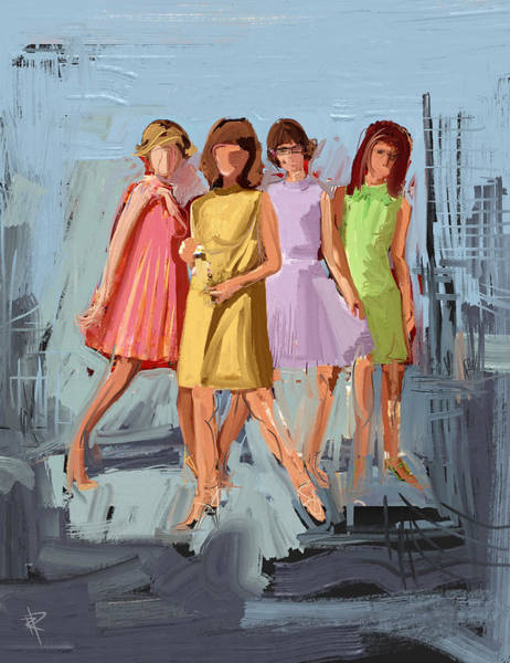 Vogue Mixed Media - Timeless Style by Russell Pierce