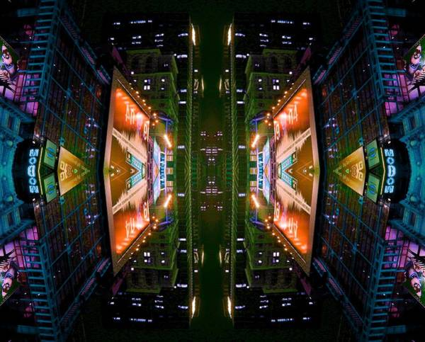 Photograph - Times Square by Christopher Brown