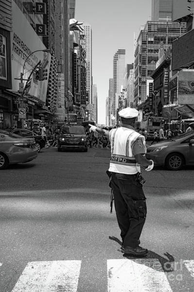 Photograph - Times Square, New York City  -27854-bw by John Bald