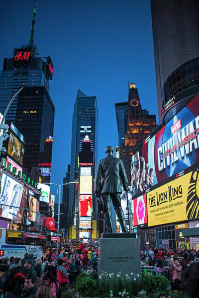 Photograph - Times Square Ny Overlooking The Square by Toby McGuire