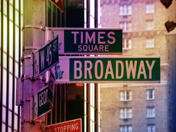 Photograph - Times Square by William Arenas