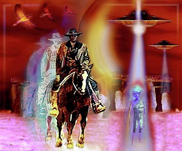 Mixed Media - Stonehenge   Timewarp by Hartmut Jager