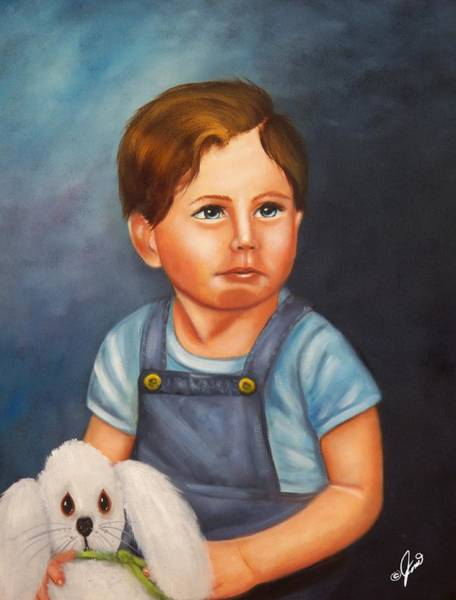 Painting - Timmy And Fluffy by Joni McPherson