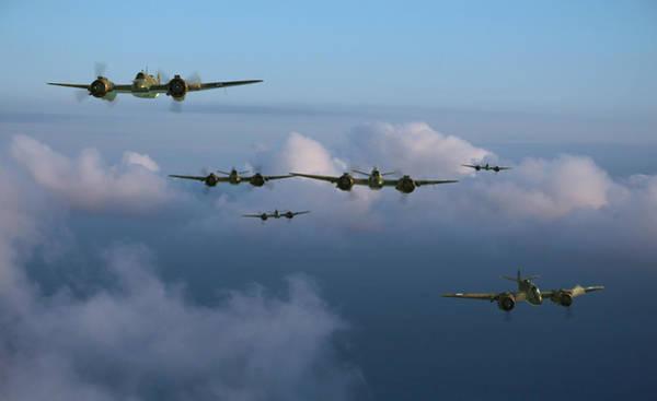 Royal Air Force Digital Art - Timor Strike by Mark Donoghue