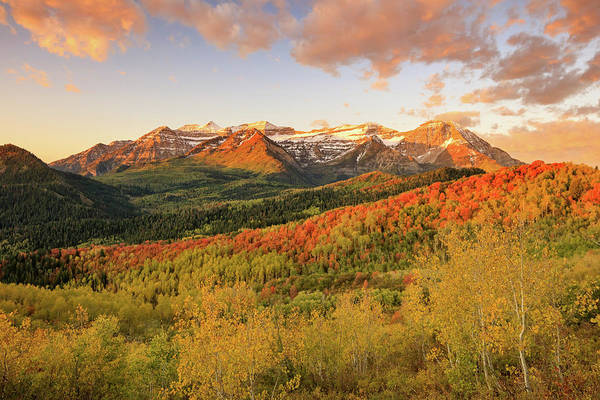 Wall Art - Photograph - Timp Autumn Glow by Johnny Adolphson