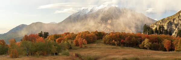 Photograph - Timpanogos Veil by Dustin LeFevre