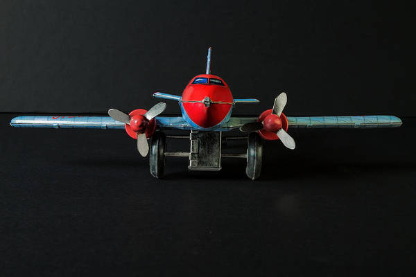 Photograph - Tin Airplane - 1 by Rudy Umans