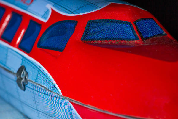 Photograph - Tin Airplane - 2 by Rudy Umans
