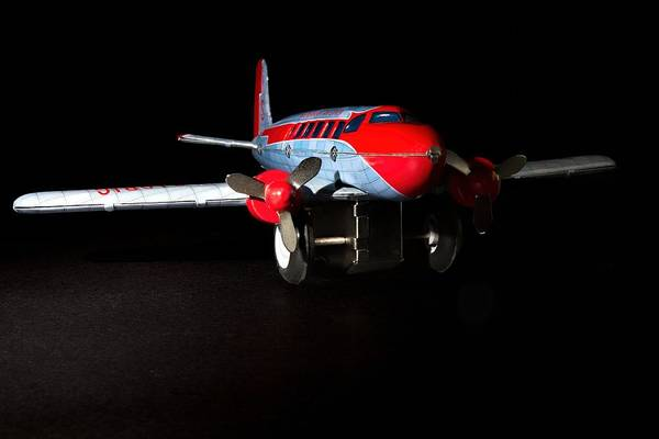 Photograph - Tin Airplane  by Rudy Umans
