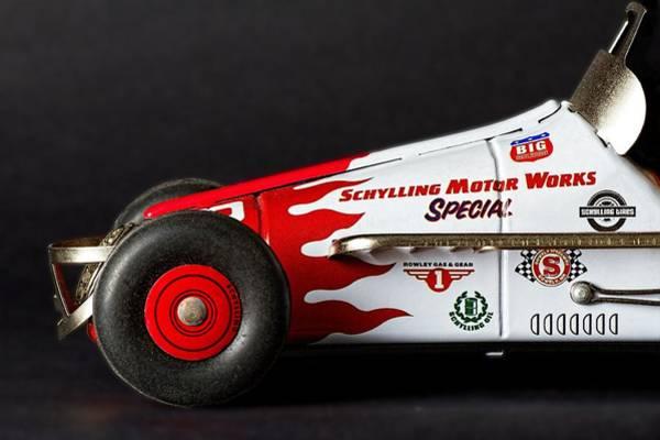 Photograph - Tin Race Car -3 by Rudy Umans