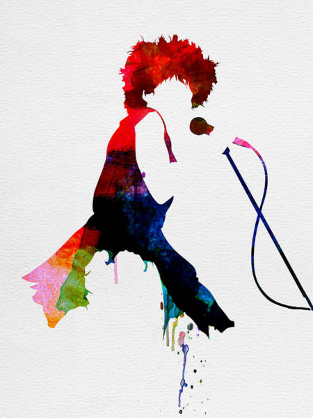 Wall Art - Painting - Tina Watercolor by Naxart Studio