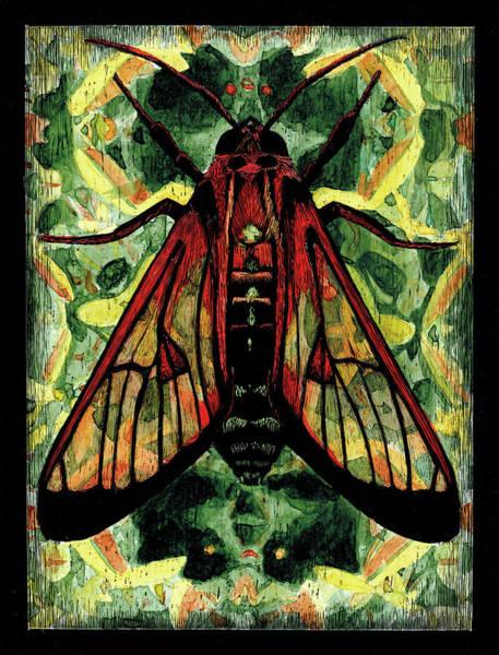 Painting - Tineidae by Sophie Mildner