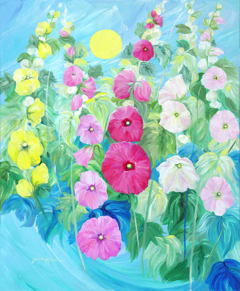 Painting - Tinkerbell's Playground by Linda Rauch