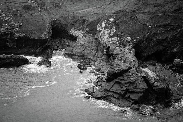 Photograph - Tintagel Rocks by Ross Henton