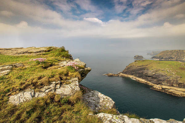 Photograph - Tintagel View by Framing Places