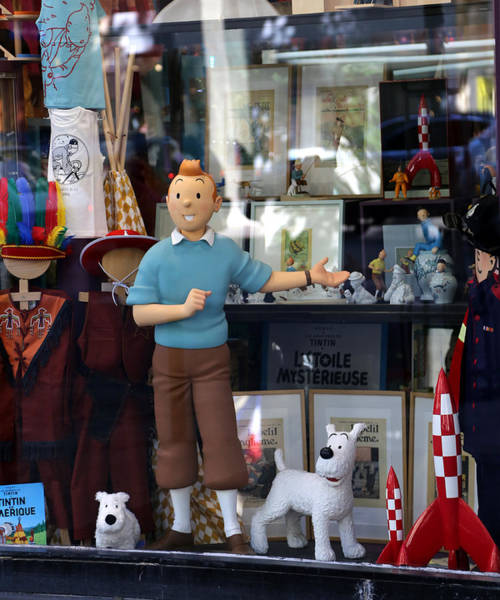 Photograph - Tintin 1 by Andrew Fare