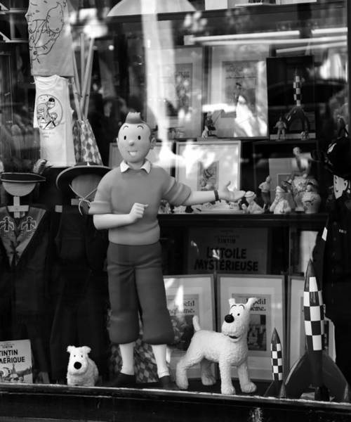 Photograph - Tintin 1b by Andrew Fare