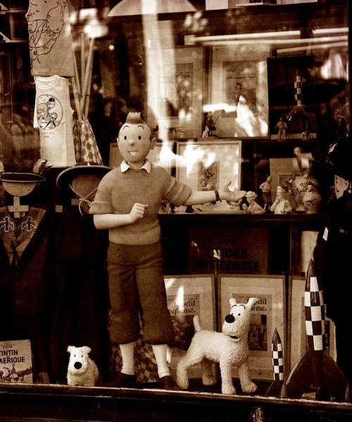 Photograph - Tintin 1c by Andrew Fare