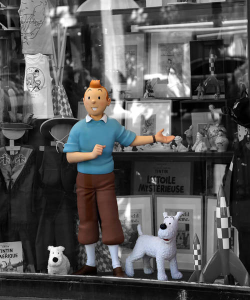 Photograph - Tintin 1d by Andrew Fare