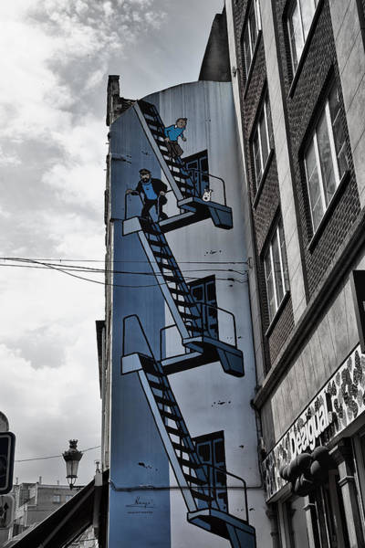 Wall Art - Photograph - Tintin In Brussels by Georgia Fowler