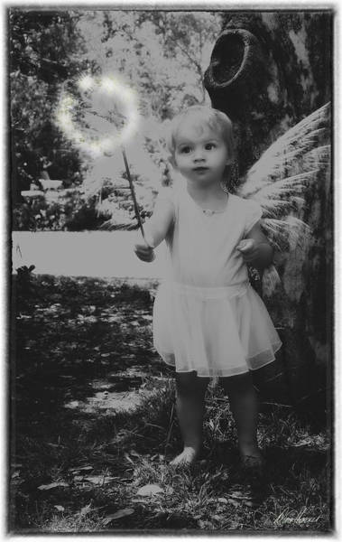 Photograph - The Magic Of Childhood by Diana Haronis