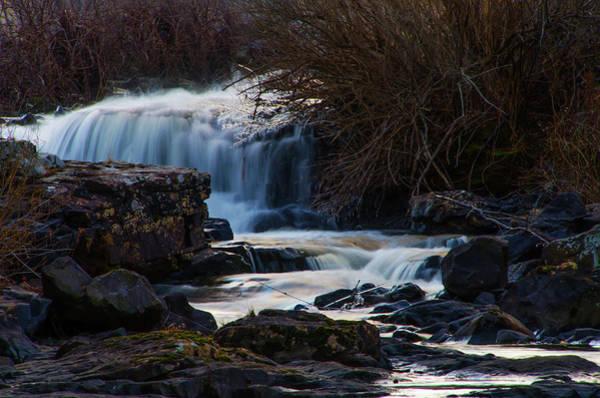 Photograph - Tiny Pocono Cascade  by Bill Cannon