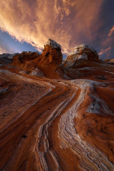 Sandstone Photograph - Tip Of The Spear by Miles Morgan