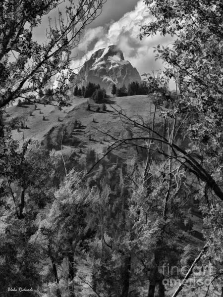 Photograph - Tip Of The Teton by Blake Richards