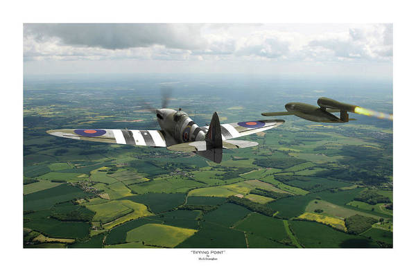 Raf Digital Art - Tipping Point - Titled by Mark Donoghue