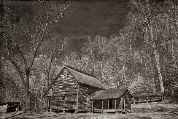 Photograph - Tipton Place Cades Cove by Jim Cook