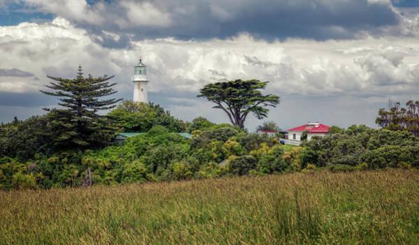 Photograph - Tiritiri Matangi Lighthouse New Zealand by Joan Carroll
