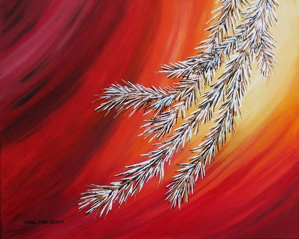 Wall Art - Painting - Tis The Season by Carol Sabo