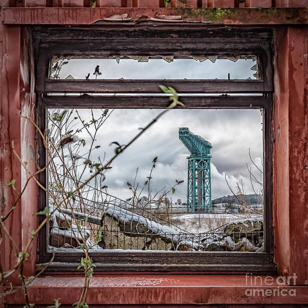 Wall Art - Photograph - Titan Crane Through The Ruin by Antony McAulay