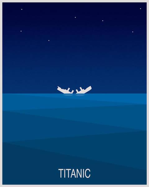 Shipwreck Digital Art - Titanic by Finlay McNevin