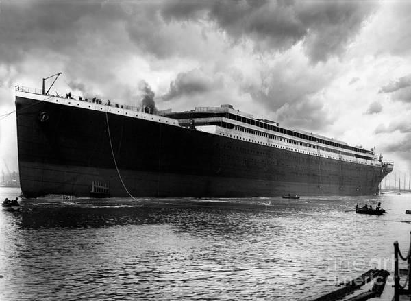 1912 Photograph - Titanic In Belfast by Jon Neidert