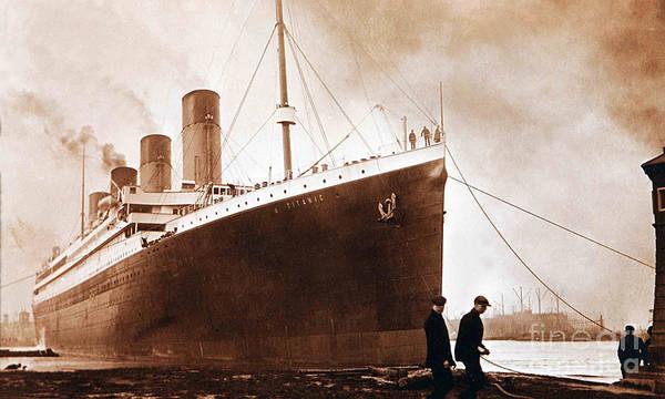 1912 Photograph - Titanic by Jon Neidert