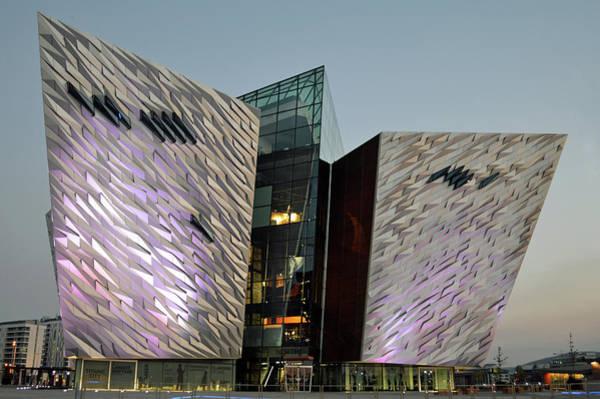 Wall Art - Photograph - Titanic Museum Belfast. by Terence Davis